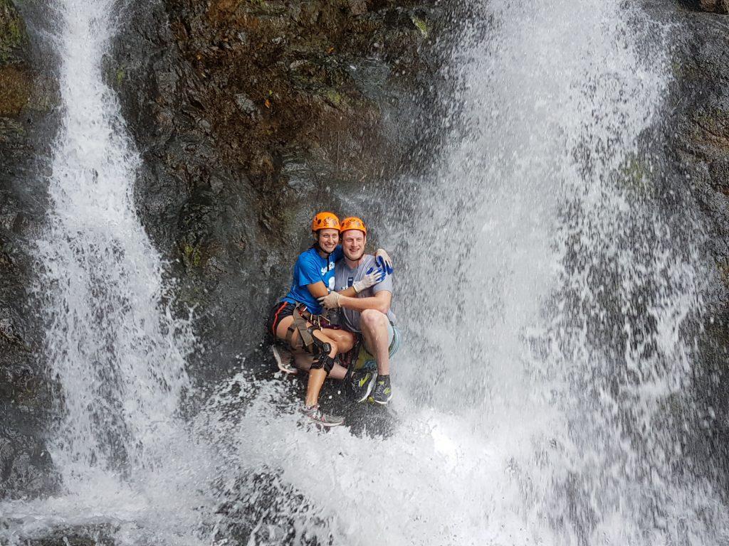 Waterfall Couple
