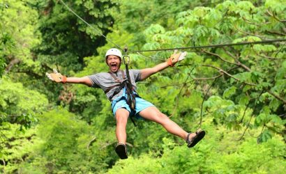 Canopy tour in Jaco Beach