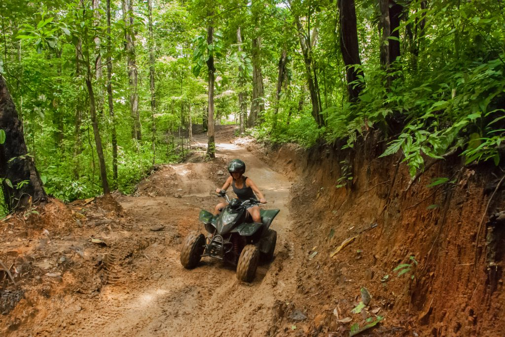 ATV mud path