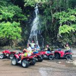 ATV and Waterfall