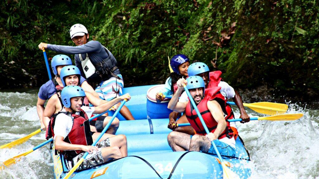 White Water Rafting San Jose